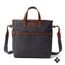 Sparklol 休閒商務 通勤收納帆布包 斜背包 / 手提包