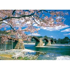 【台製拼圖】夜光-日本錦帶橋 (520片) HM520-103