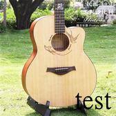 吉它吉他玫瑰木吉他40寸41寸電箱民謠初學者吉它演奏級吉他XW(免運)