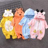 嬰兒衣 嬰兒連體衣服春秋寶寶哈衣新生兒男3個月6純棉0女爬服春裝1歲睡衣 玩趣3C
