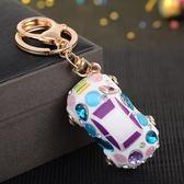 汽車鑰匙扣創意禮品水晶水鉆可愛鎖匙扣女包包掛件鑰匙鏈飾品