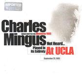 【正版全新CD清倉 4.5折】查爾斯·明格斯-在UCLA CD(2CD)