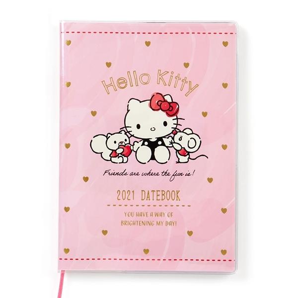 【震撼精品百貨】2021年曆~ Sanrio KITTY 2021年~記事手帳/年曆/行事曆/日誌/桌曆*46519