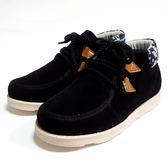 英倫  紳士拉練短靴 《7+1童鞋》A363 黑色