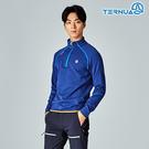 【西班牙TERNUA】男Power Stretch Pro半門襟保暖上衣1206561 / 城市綠洲(Polartec、刷毛、透氣、快乾)