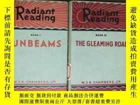 二手書博民逛書店RADIANT罕見READING BOOK輻射閱讀1、4(上世