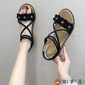 中大童涼鞋公主韓版兒童鞋子中大童軟底時尚童鞋【淘夢屋】