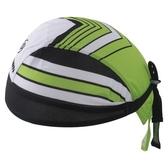 自行車頭巾 抗紫外線-綠谷箭頭紋路設計男女單車運動頭巾73fo68【時尚巴黎】
