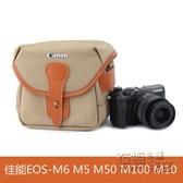 佳能EOS-M5 M50 M6 M100 M10 M3微單電攝影保護袋便攜相機包 衣櫥秘密