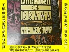 二手書博民逛書店The罕見Hbj Anthology Of DramaY256260 不祥 Harcourt Brace Jo
