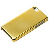 ★APP Studio★【日本iJacket】簡約系列 iPhone5C 仿鋁金屬感超薄保護殼-閃耀金