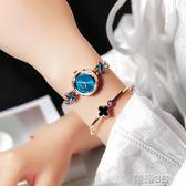女士手錶 格諾雅手錶女韓版簡約時尚潮流防水小巧女錶學生新款女士 榮耀3c