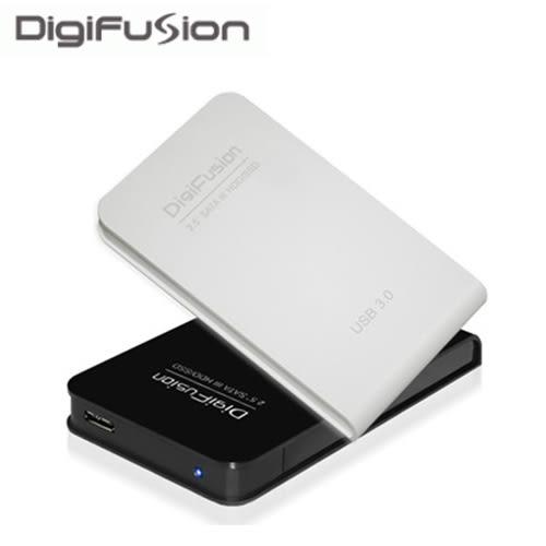 伽利略 USB3.0 2.5吋 SATAIII SSD/HDD 硬碟外接盒-白