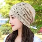 月子帽 帽子女夏季薄款透氣頭巾帽光頭堆堆帽中老年媽媽包頭帽孕婦月子帽