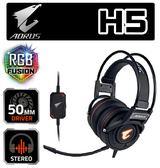 [地瓜球@] 技嘉 GIGABYTE AORUS H5 RGB 立體聲 耳機 麥克風
