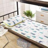 涼席單人床學生宿舍夏季折疊冰絲席寢室0.9m空調席80軟席子1.2米 雙11大促