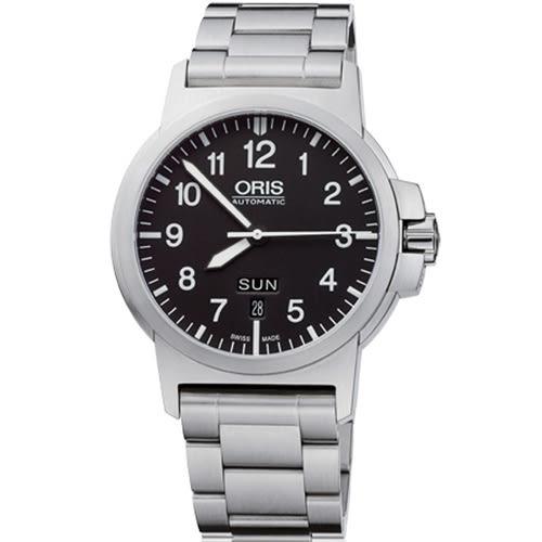 ORIS 豪利時 BC3瑞士錶 飛行錶 (0173576414164-0782203) 黑/42mm