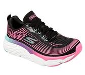 SKECHERS系列-GO RUN MAX CUSHIONING ELITE女款粉紅線條厚底慢跑鞋-NO.17699BKMT