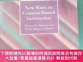 二手書博民逛書店New罕見Ways in Content-Based InstructionY243744 Donna M.