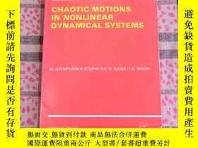 二手書博民逛書店Chaotic罕見Motions in Nonlinear Dy