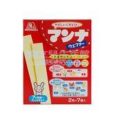 日本進口森永高鈣威化餅(35.7g)[衛立兒生活館]