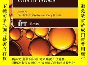 二手書博民逛書店Trait-Modified罕見Oils in FoodsY410016 Frank T. Orthoefe.