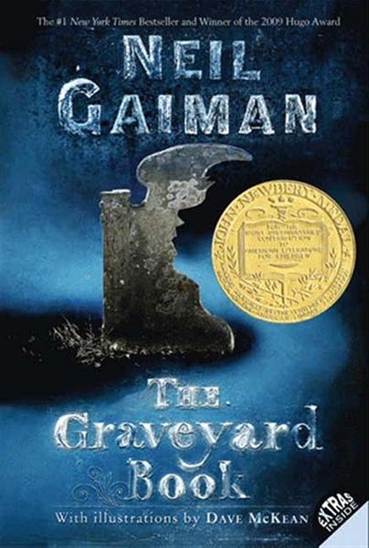 (二手書)Graveyard Book (2009 Newbery Medal Book)
