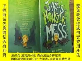 二手書博民逛書店jake s罕見monster messY271632 ken