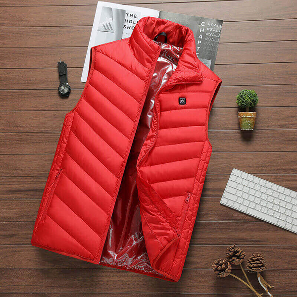 新升級款秋冬必備安全智能防水防風極度乾燥USB恆溫充電電熱衛生保暖衣背心外套(男/女款)