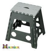 KEYWAY 休閒摺合椅 灰色款 PP-0120 39x32.2x39.5cm