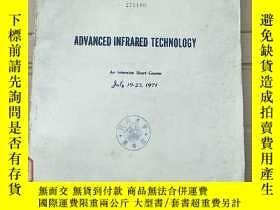 二手書博民逛書店advanced罕見infrared technology(P2732)Y173412