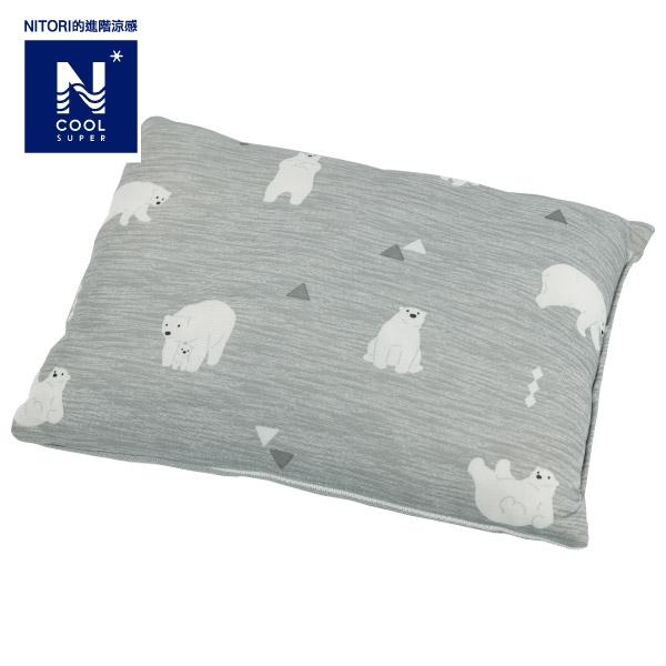 進階涼感 孩童用枕頭 N COOL SP I 21 POLARBEAR 北極熊 NITORI宜得利家居