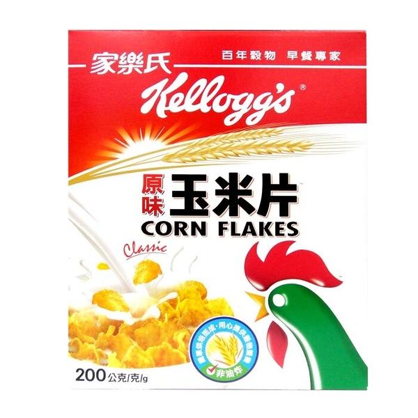 家樂氏 原味玉米片 200g/盒【康鄰超市】