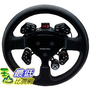 (美國官網代訂) Fanatec ClubSport steering wheel Round 1 Xbox One US 方向盤面