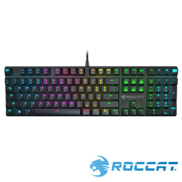 ROCCAT SUORA RGB電競鍵盤 -青軸中文