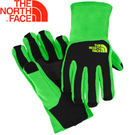 【The North Face 男童 刷毛保暖手套 氪綠/黑】童刷毛手套/A6N7★滿額送