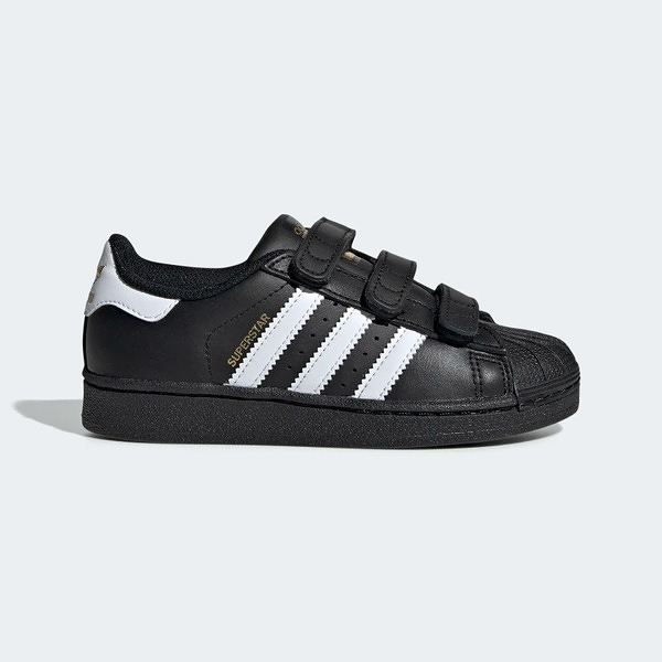 Adidas Superstar Foundation CF C [B26071] 中童鞋 運動 休閒 經典 愛迪達 黑