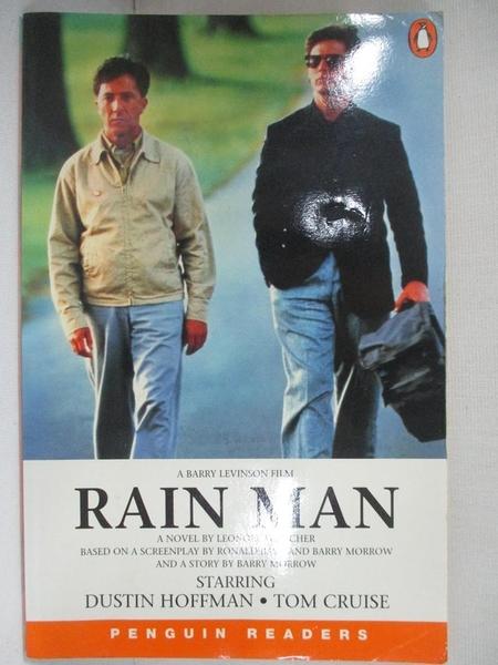 【書寶二手書T4/原文小說_BLR】Rain Man (Penguin Readers, Level 3)_FLEISCHER, LEONORE
