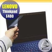 【Ezstick】Lenovo ThinkPad E480 靜電式筆電LCD液晶螢幕貼 (可選鏡面或霧面)