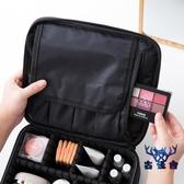 化妝品收納包手提多層化妝包便攜防水多格大容量【古怪舍】