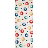 【日本製】【和布華】 日本製 注染拭手巾 圓圈點點圖案 SD-5075 - 和布華