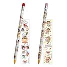 【日本正版】蠟筆小新 自動鉛筆 0.5mm 自動筆 野原新之助 雙葉幼稚園 117840 117857