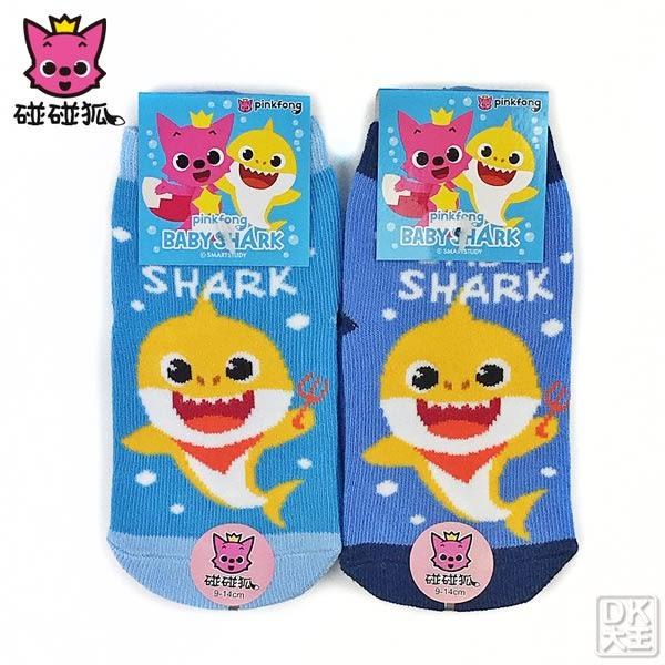 碰碰狐BABY SHARK止滑直板襪 PF-S104B 鯊魚寶寶款 嬰兒襪 ~DK襪子毛巾大王