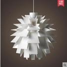 設計師的燈北歐現代簡約客廳餐廳美式鄉村創意樓梯吊燈PP松果吊燈(中號 PP松果)