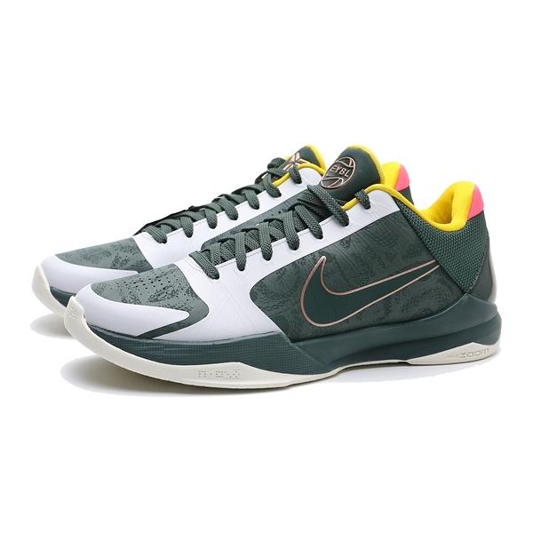 NIKE 籃球鞋 KOBE 5 PROTRO EYBL 灰綠 運動 男 (布魯克林) CD4991-300