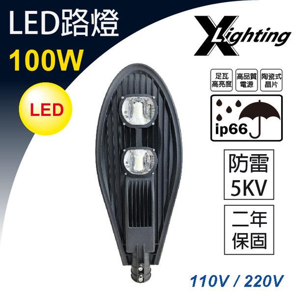 2年保 LED路燈 100W 白光 IP66防水 防雷5KV EXPC X-LIGHTING ( 50W 150W )