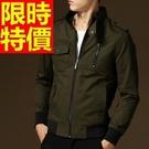 男款軍裝外套明星款-秋季新款時尚薄厚男夾克7色62o9【巴黎精品】