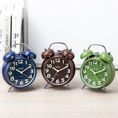 鬧鐘 小鬧鐘機械超大聲音鬧鈴學生用懶人時鐘簡約起床兒童【免運直出】