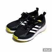 ADIDAS 中童 慢跑鞋 FAI2GO EL K 魔鬼氈 網布 透氣 黑白-FX2934