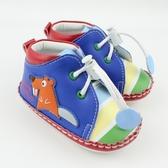 【愛的世界】森林樂園寶寶鞋/學步鞋(高筒)-台灣製-n14 ★童鞋童襪